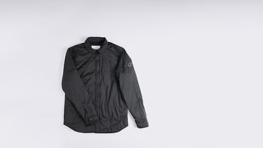 OROC V1.Y0.01 Ultralight Quilted Jacket black Back Alpha Tauri