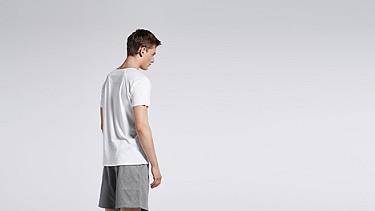 JAXA V1.Y0.01 Raglan-T-Shirt white Vorne Alpha Tauri