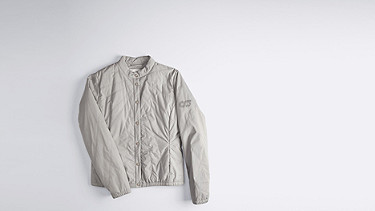 ORTH V1.Y0.01 Ultralight Quilted Jacket grey Back Alpha Tauri