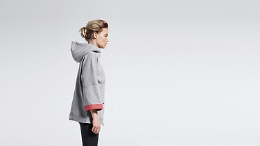 SMEX V1.Y0.01 Light Zip-up Hoody grey / melange Front Main Alpha Tauri