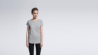 JUNO V1.Y0.01 Melange T-shirt grey / melange Model shot Alpha Tauri