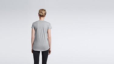 JUNO V1.Y0.01 Melange T-shirt grey / melange Front Alpha Tauri