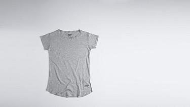 JUNO V1.Y0.01 Melange T-shirt grey / melange Back Alpha Tauri