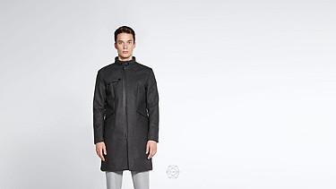 OKEN V1.Y0.02 Corkshell™ Taurex® Mantel dark grey / anthracite Alpha Tauri