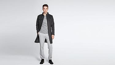 OKEN V1.Y0.02 Corkshell™ Taurex® Coat dark grey / anthracite Front Main Alpha Tauri