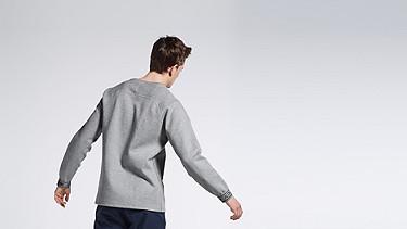 STOE V1.Y0.02 Herobranding Sweatshirt grey Front Alpha Tauri