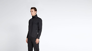SELG V1.Y0.02 Technical Sweat black Front Alpha Tauri