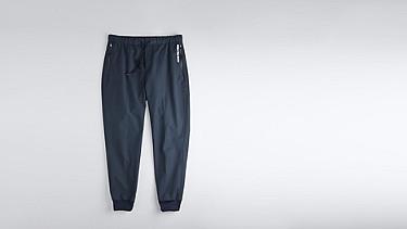 PORI V1.Y0.02 Tapered Pants navy Back Alpha Tauri