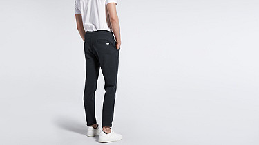 PITZ V1.Y0.02 Sweatpants black Front Alpha Tauri