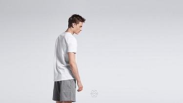 BARU Taurex® T-Shirt mit Rundausschnitt white Alpha Tauri