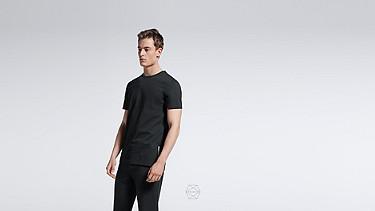 BARU Round-neck Taurex® T-shirt black Alpha Tauri