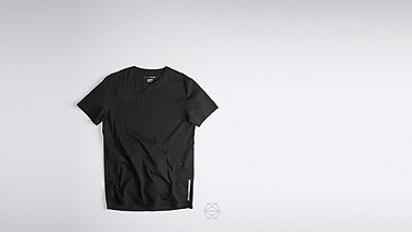 BARU Taurex Round-neck T-shirt black Back Alpha Tauri