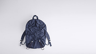 ARAI V1.Y0.02 Soft Backpack navy Back Alpha Tauri