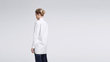 WYIN V1.Y0.02 Legeres Shirt white Vorne Alpha Tauri