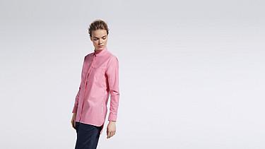 WYIN V1.Y0.02 Casual Shirt rose Front Main Alpha Tauri