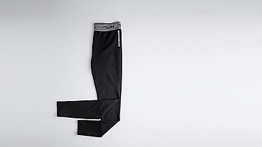 PORT V2.Y0.02 Leggings mit Herobranding black Hinten Alpha Tauri