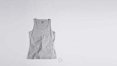 BESS Taurex® Tank-top grey / melange Back Alpha Tauri