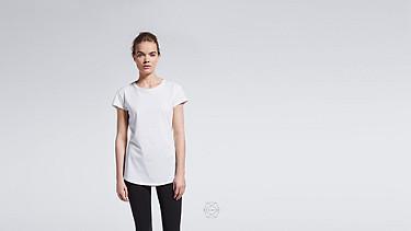 BARA Taurex® T-Shirt mit Flügelärmeln white Alpha Tauri