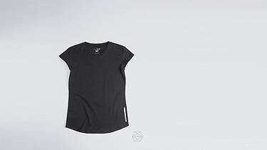 BARA Taurex® T-Shirt mit Flügelärmeln black Hinten Alpha Tauri