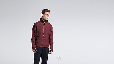 OULO V1.Y1.01 Signature Taurex® Jacket bordeaux Alpha Tauri