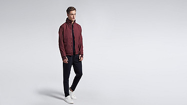 OULO V1.Y1.01 Signature Jacket bordeaux Front Main Alpha Tauri