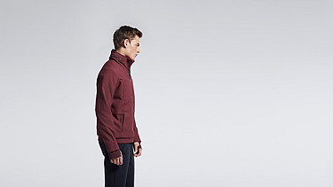 OULO V1.Y1.01 Signature Taurex® Jacket bordeaux Front Alpha Tauri
