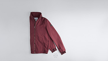 OULO V1.Y1.01 Signature Jacket bordeaux Back Alpha Tauri