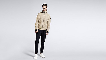 OULO V1.Y1.01 Signature Jacket beige - sand Front Main Alpha Tauri