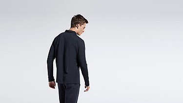 JOOK V1.Y1.01 Long-sleeved Polo navy Front Alpha Tauri