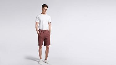 PUGH V1.Y1.01 Jersey-Shorts bordeaux Haupt Vorne Alpha Tauri