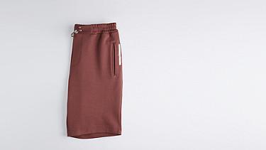 PUGH V1.Y1.01 Jersey-Shorts bordeaux Hinten Alpha Tauri