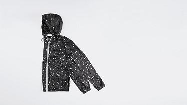 OCHA V1.Y1.01 Packable Jacket black Back Alpha Tauri