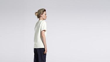 JOKA V1.Y1.01 Kurzärmliges T-Shirt white Vorne Alpha Tauri
