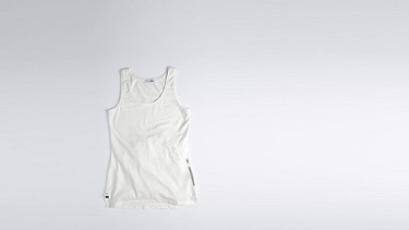 JOLA V1.Y1.01 Shaped Tank-top white Back Alpha Tauri