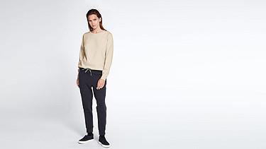 SIRA V1.Y1.01 Sweatshirt mit Kordelzug rose Haupt Vorne Alpha Tauri