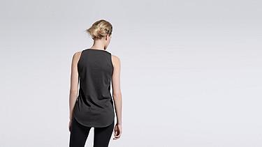 LOVA V1.Y1.01 Leather Top black Front Alpha Tauri