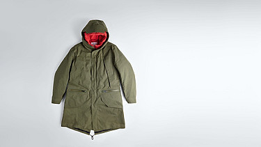 KORE V4.Y1.02 Two-piece Insulated Primaloft® Parka olive Back Alpha Tauri