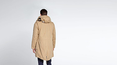 KORE V4.Y1.02 Two-piece Insulated Parka beige - sand Front Alpha Tauri