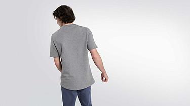 JUJO V2.Y1.02 Technisches Sweat T-Shirt grey / melange Vorne Alpha Tauri