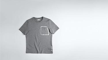 JUJO V2.Y1.02 Technisches Sweat T-Shirt grey / melange Hinten Alpha Tauri
