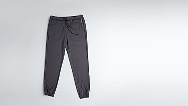 PRYK V1.Y1.02 Sweat Pants dark grey Back Alpha Tauri