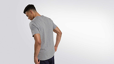 JIGU V1.Y1.02 Logo T-shirt grey / melange Front Alpha Tauri