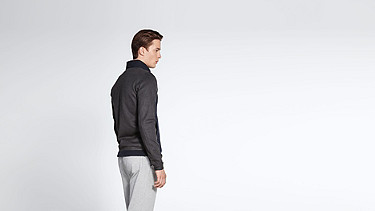 SHIO V1.Y1.02 Sweat Jacket navy Front Alpha Tauri