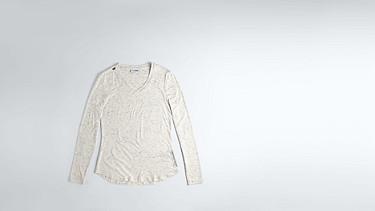 JYNN V1.Y1.02 Long-Sleeved T-shirt 33 offwhite melange Back Alpha Tauri