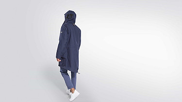 KORE V5.Y2.01 Technical Parka navy Front Alpha Tauri