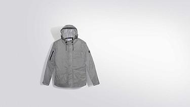 OXOM V1.Y2.01 Reflektierende Taurex® Jacke grey Links Alpha Tauri