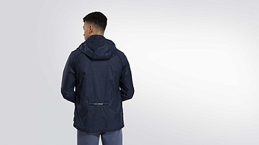 OPAK V1.Y2.01 Packable Jacket navy Vorne Alpha Tauri