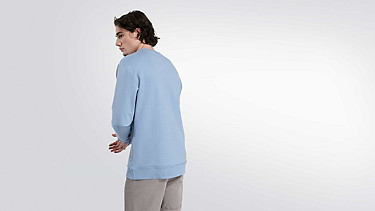 SEGA V1.Y2.01 Taurex® Logo Sweatshirt light blue Vorne Alpha Tauri
