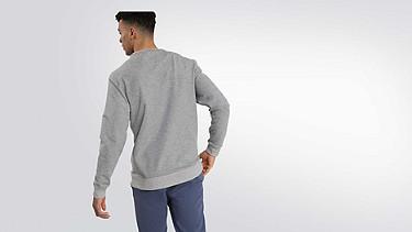 SEGA V1.Y2.01 Taurex® Logo Sweatshirt grey / melange Front Alpha Tauri
