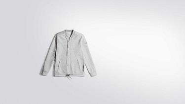 SHAO V1.Y2.01 College Jacket grey / melange Back Alpha Tauri